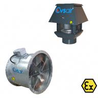 Взривозащитени Вентилатори EX / ATEX