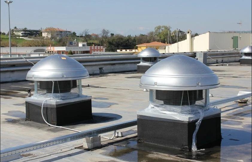 Покривни вентилатори - видове, характеристики, къде се използват