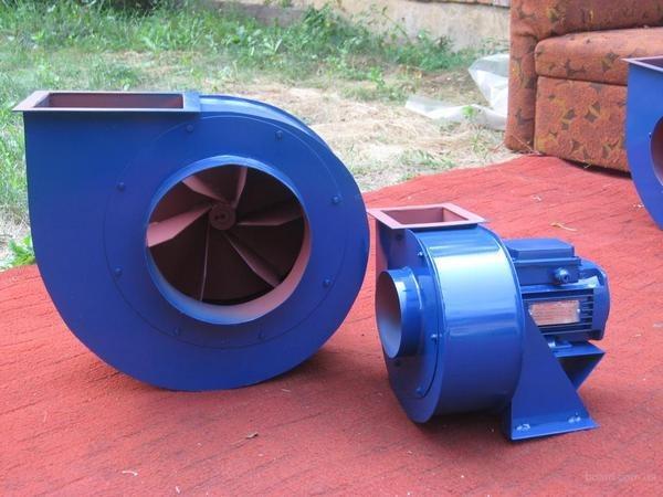 Наръчник за центробежни вентилатори